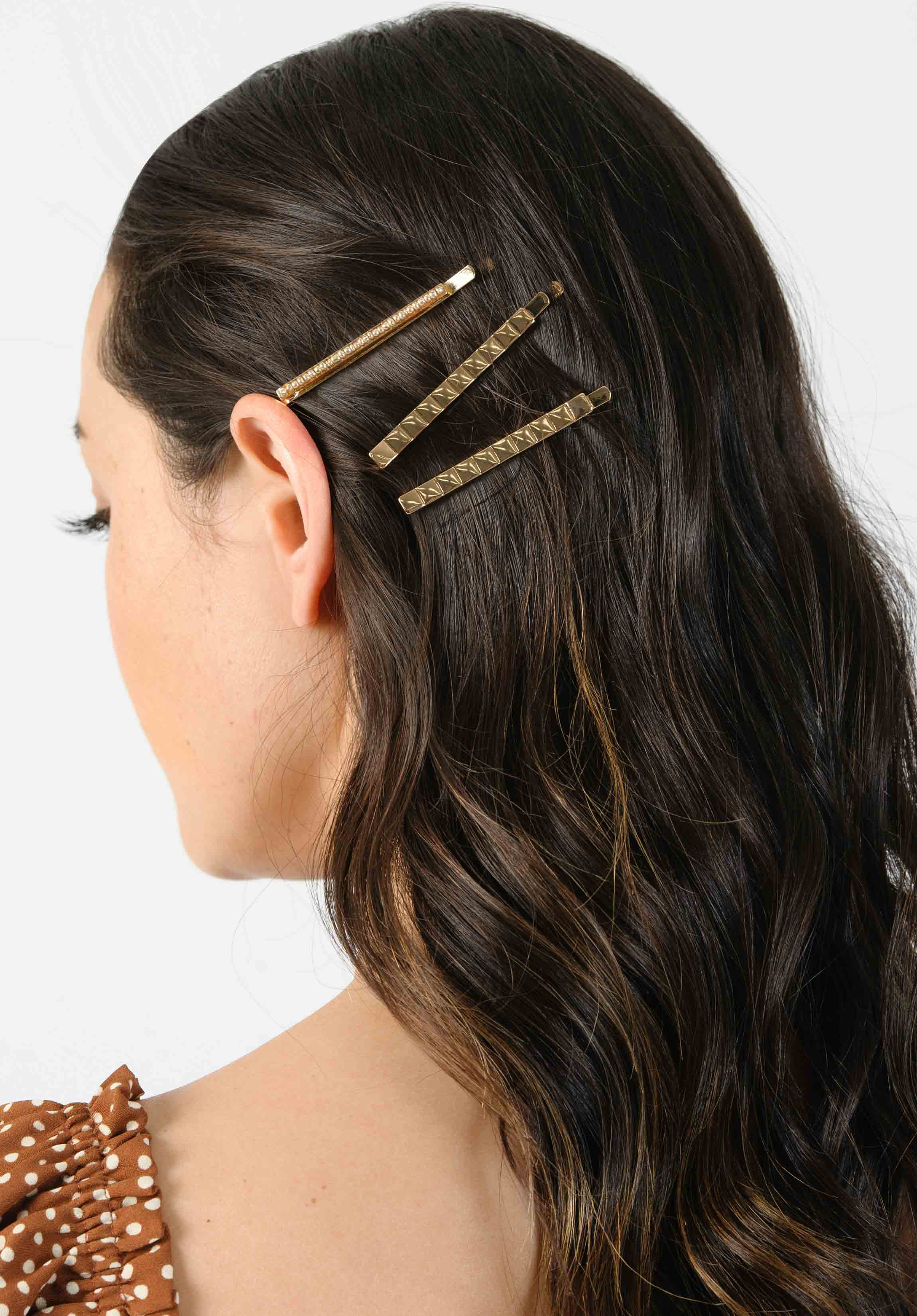 HAIRCLIP SET | GOLD