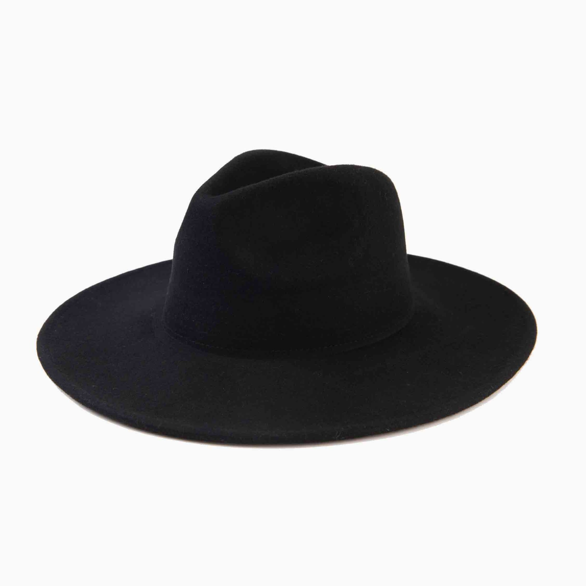 PAULINE WOOL HAT | BLACK
