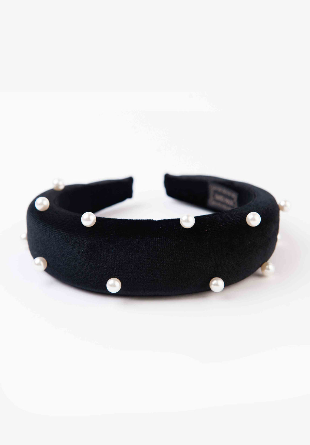 PUFFY HEADBAND | BLACK PEARL