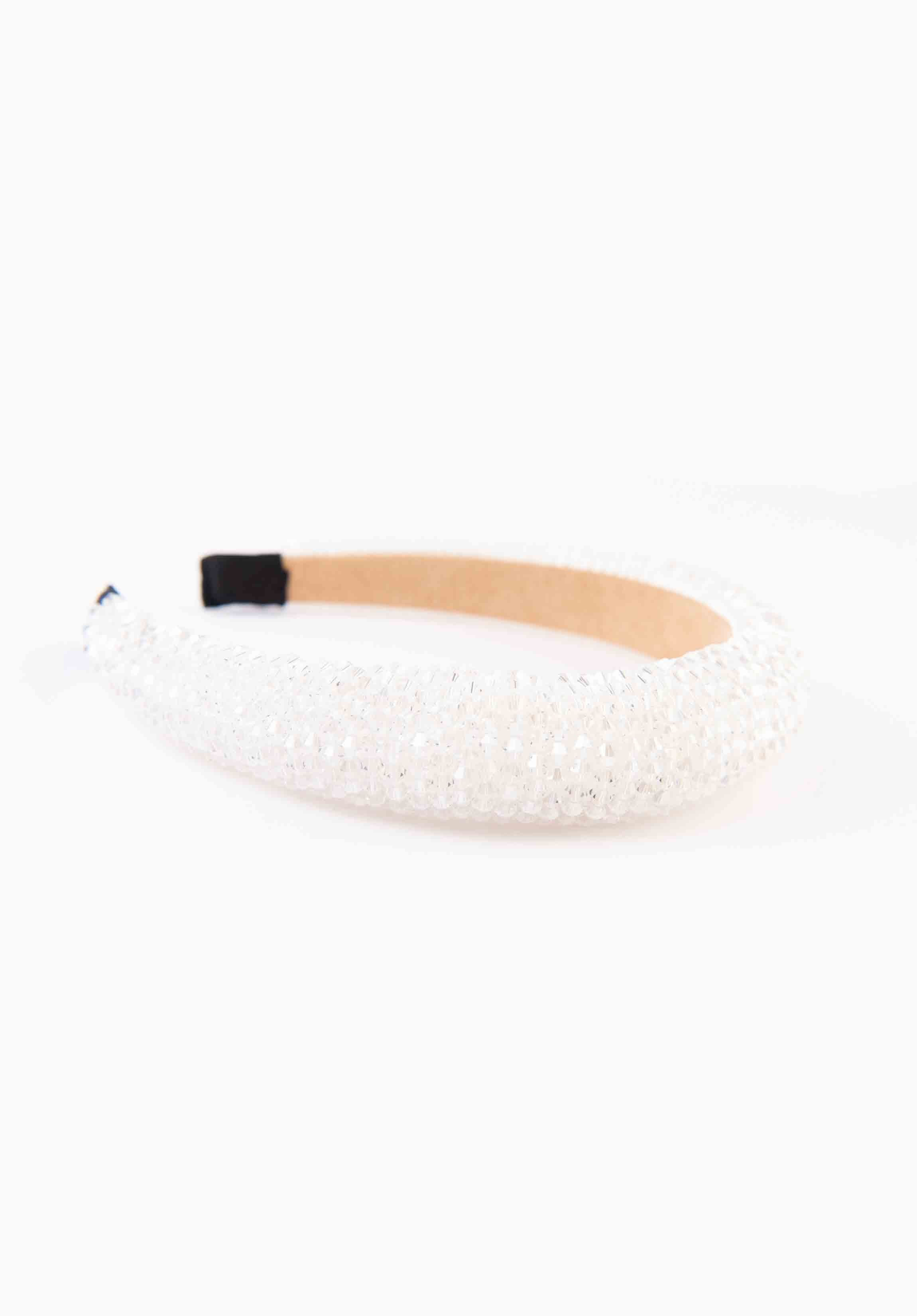 HEADBAND | CRYSTAL WHITE