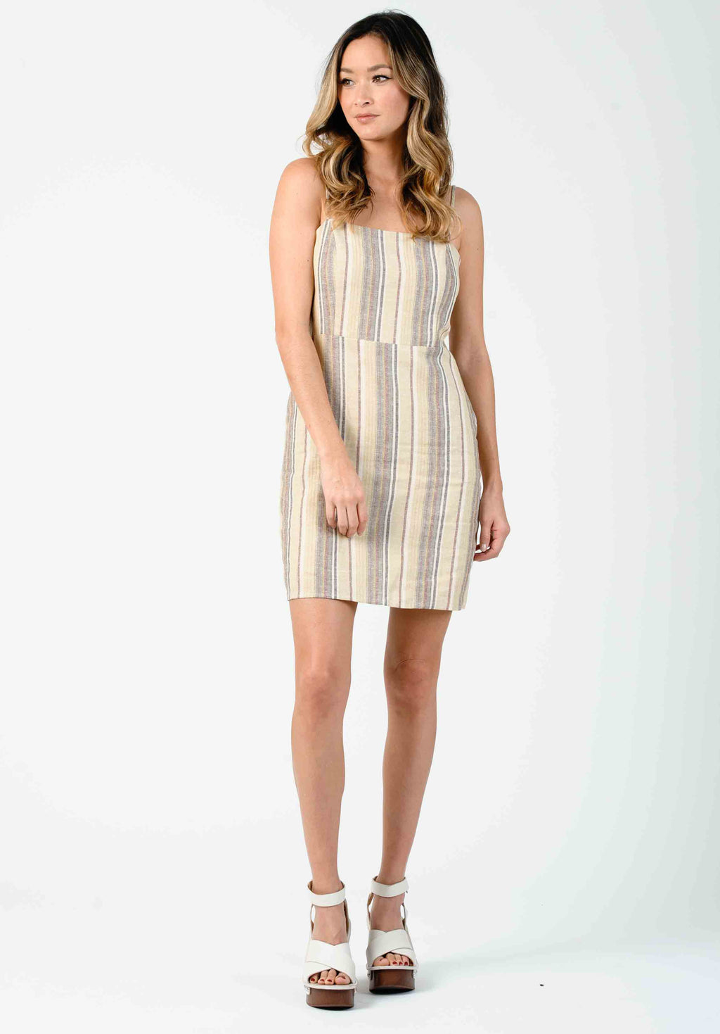 ADDILYN MINI DRESS | DESERT STRIPE