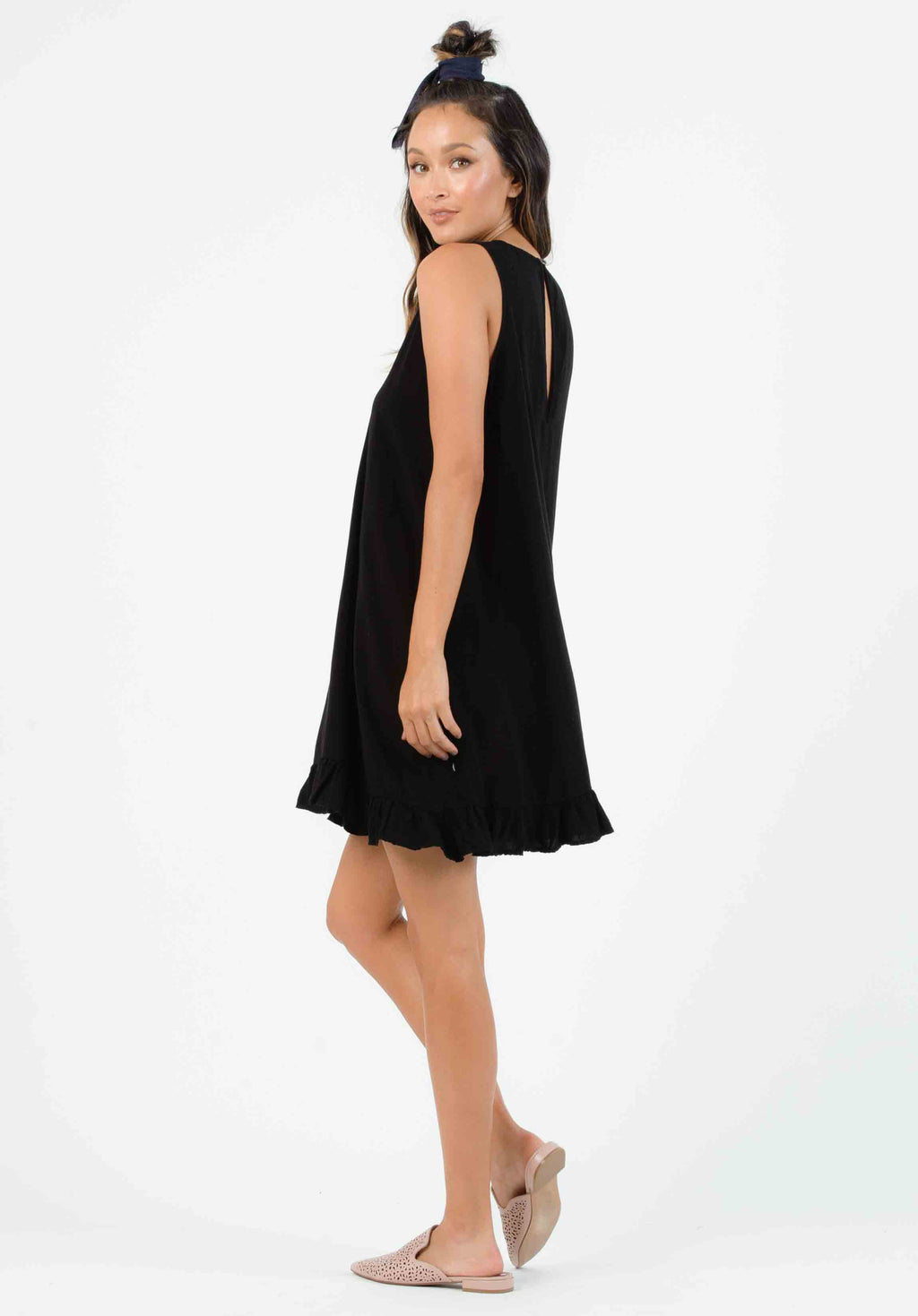 KOHALA SHEATH DRESS | BLACK