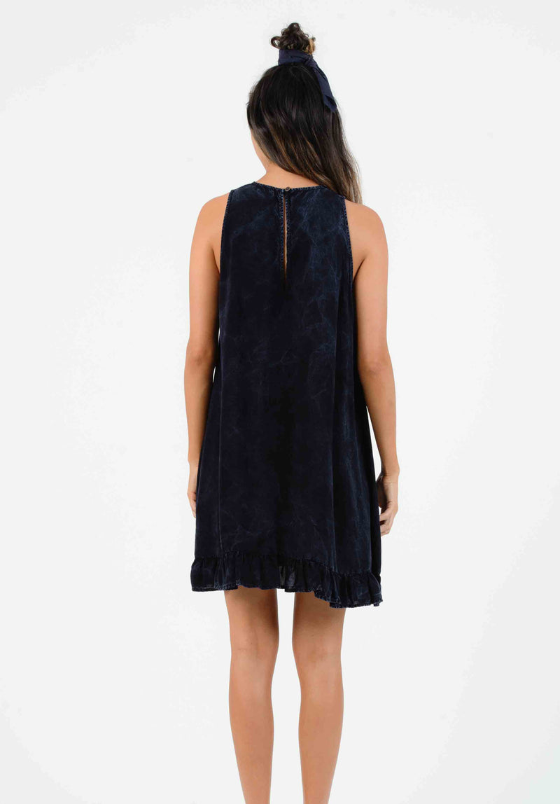KOHALA SHEATH DRESS | INDIGO