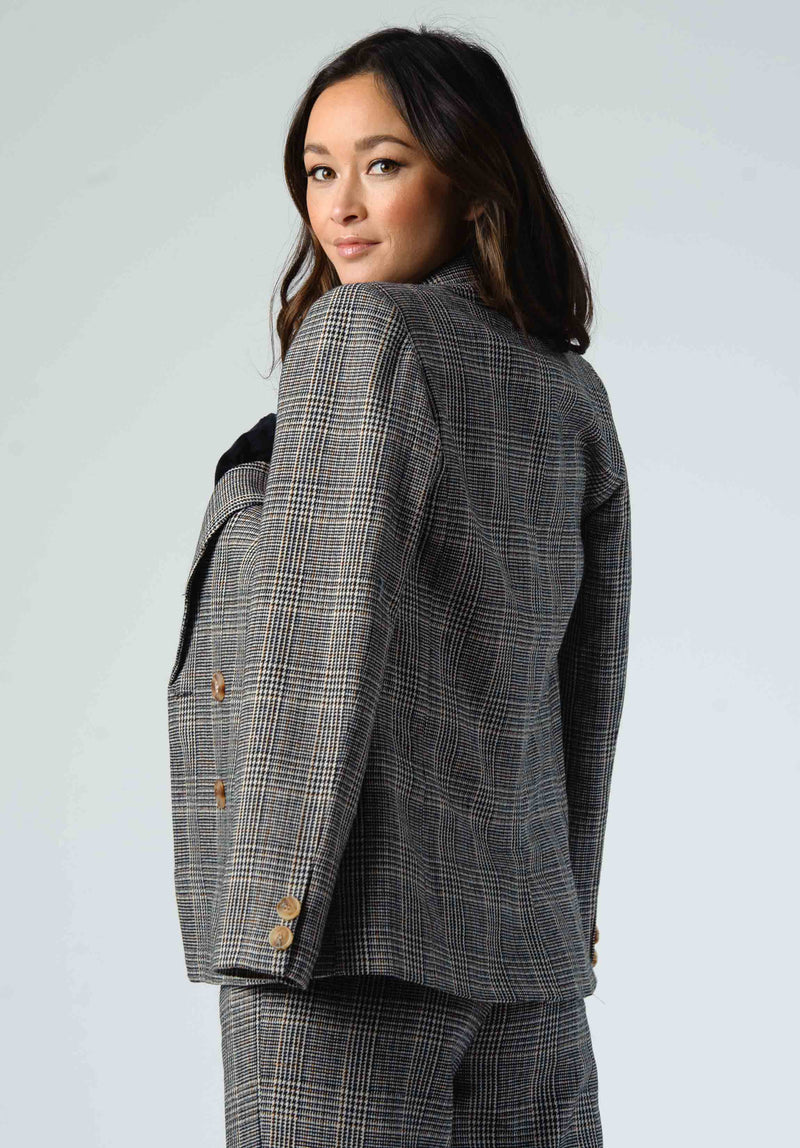 ALBANY MOTO JACKET | AUBURN TWEED