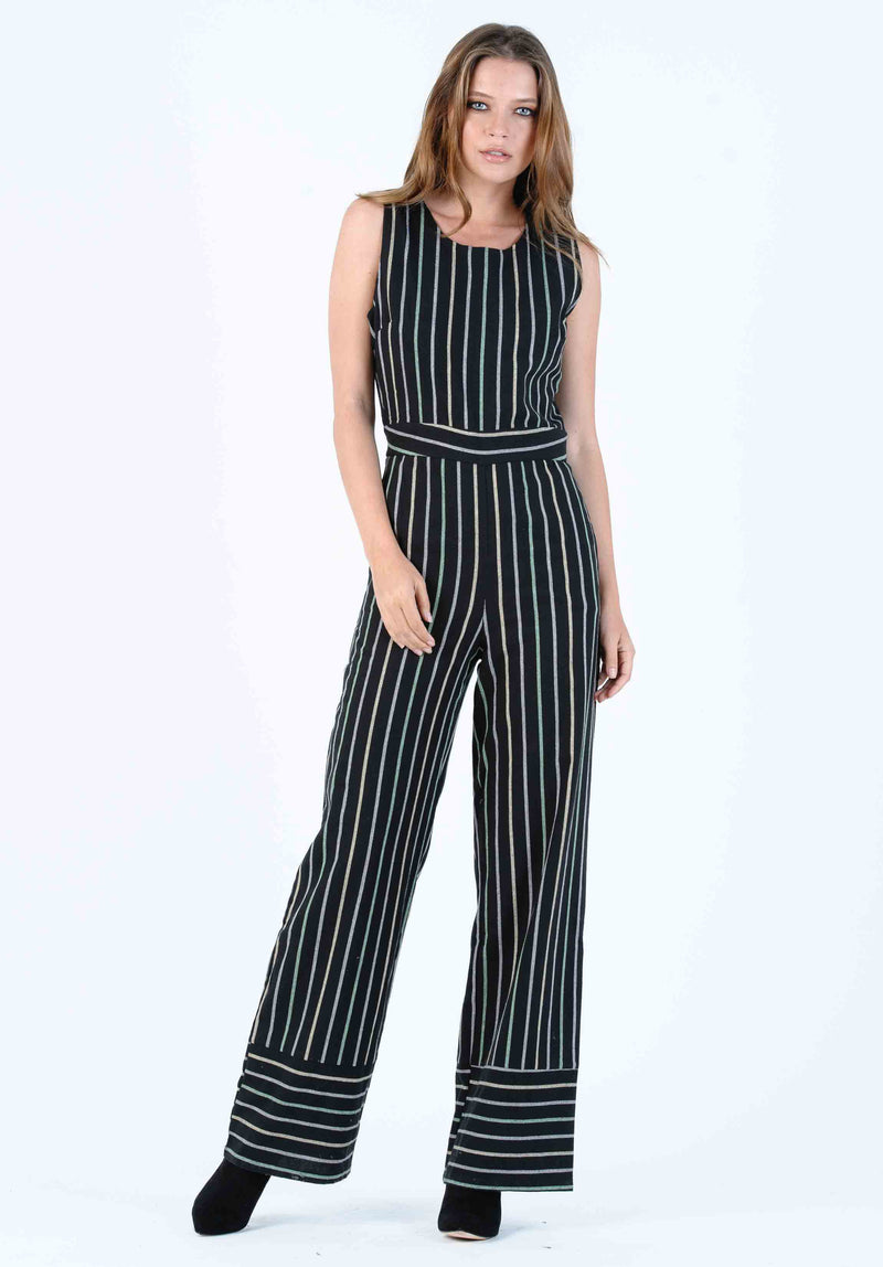 BRIANA FITTED OVERALL JUMPSUIT | TIMBERLND GREEN
