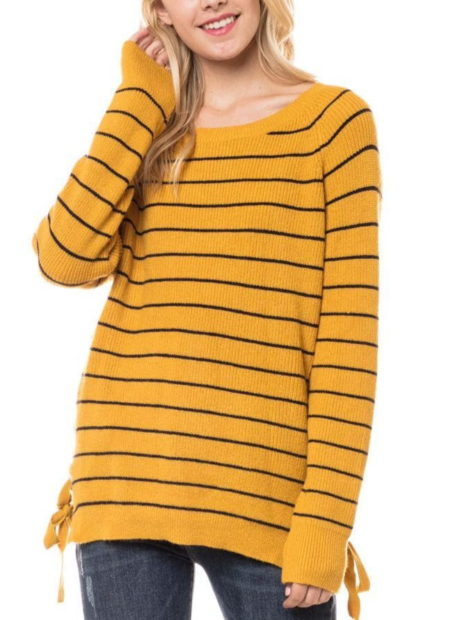 Silva Striped Sweater