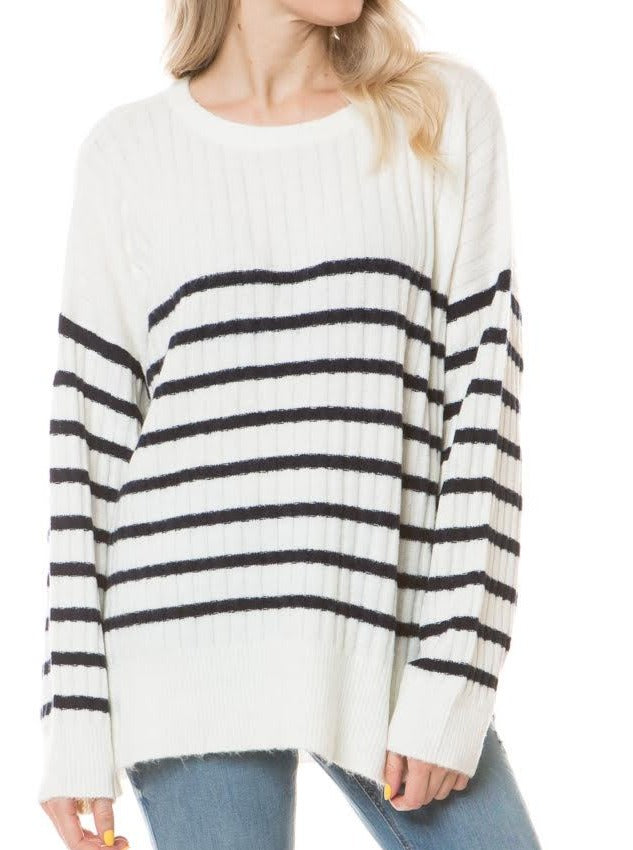 Claire Striped Sweater