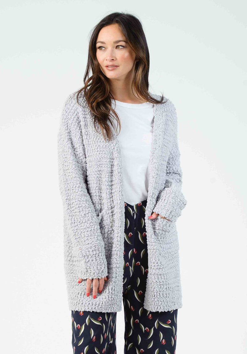 BEN CARDIGAN W/ POCKETS | LIGHT PINK