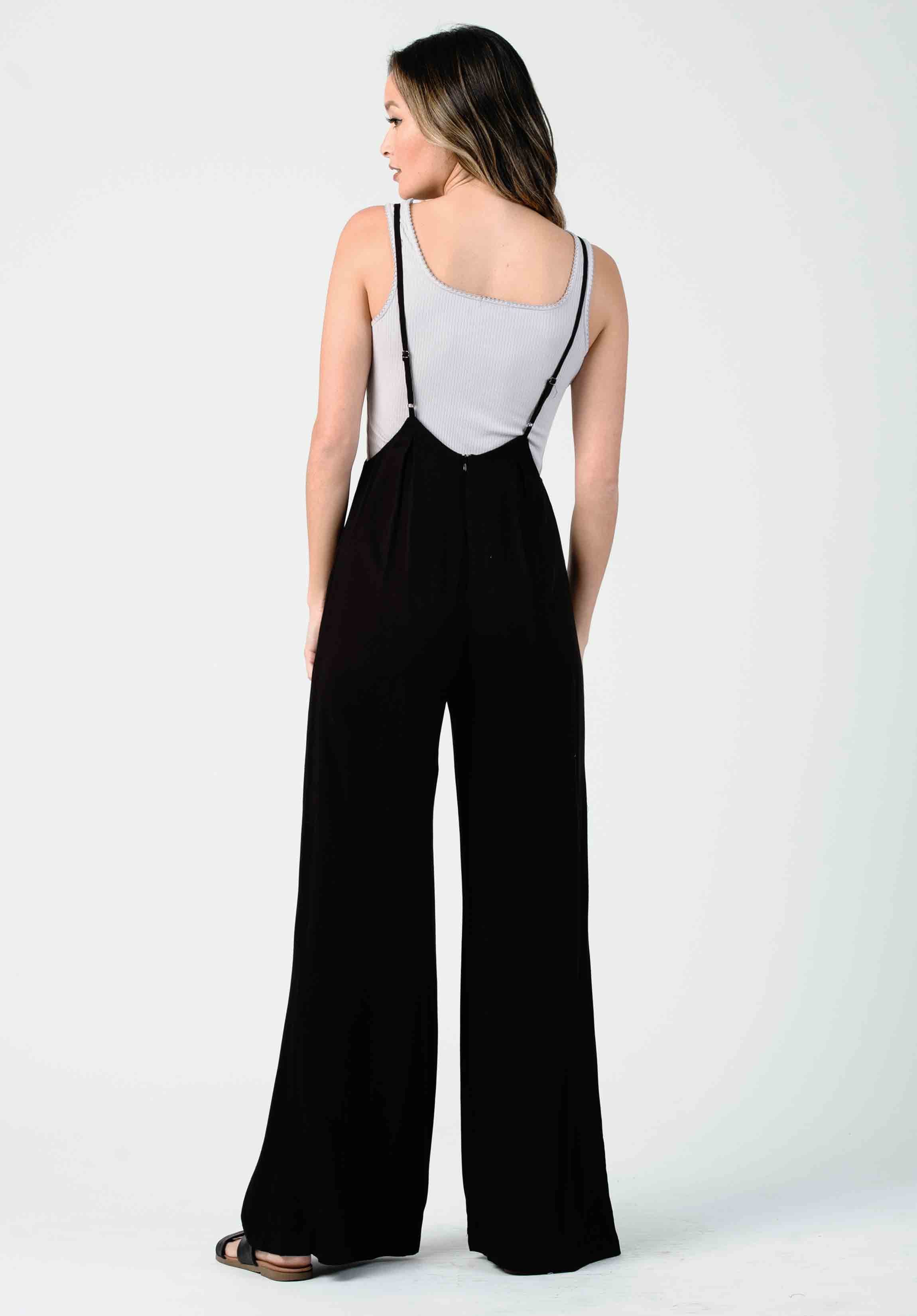JORDAN JUMPSUIT | BLACK