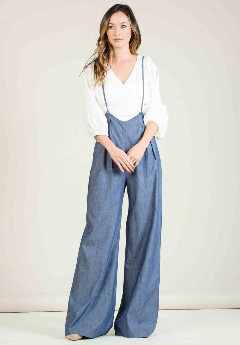 JORDAN JUMPSUIT | DENIM