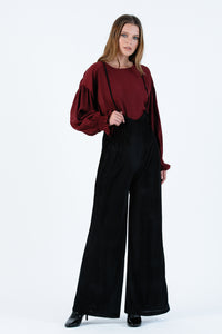 AUTUMN BLOUSE | BURGANDY