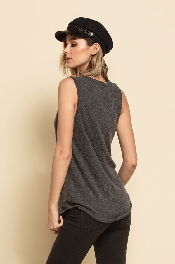 LESLIE SCOOP HACCI TANK | GREY