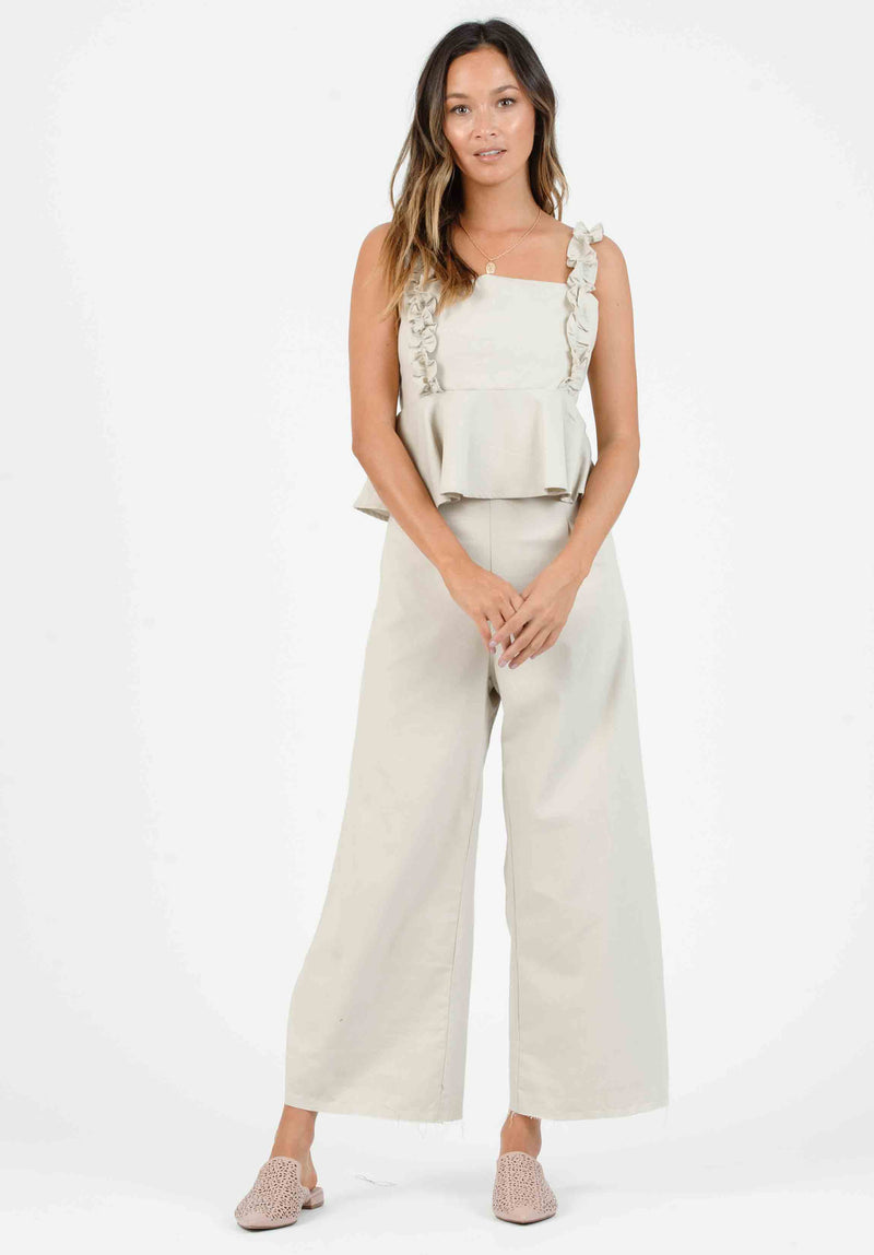 ISLA FULL LEG CUFF PANTS | AUTUMN ROAD
