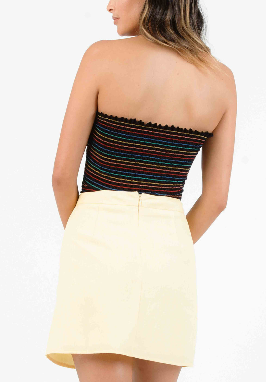 8ad47f0669c1ac BLISS SMOCKED TUBE TOP