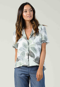 IVY POCKET FRONT BUTTON UP | SABEL PALM