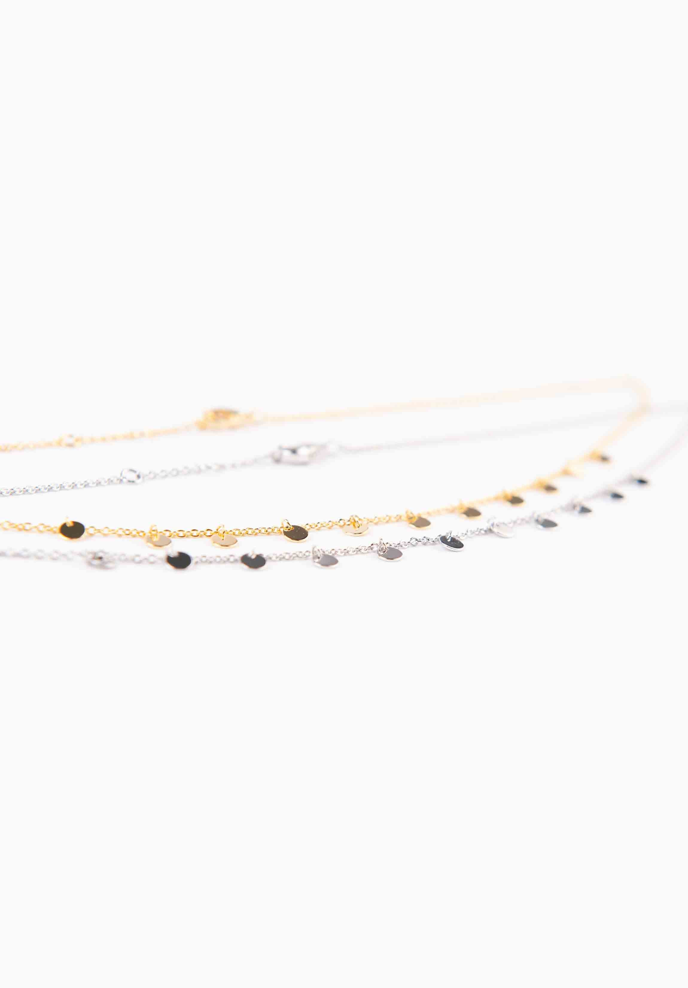 SMALL MEDALLION CHOKER | GOLD