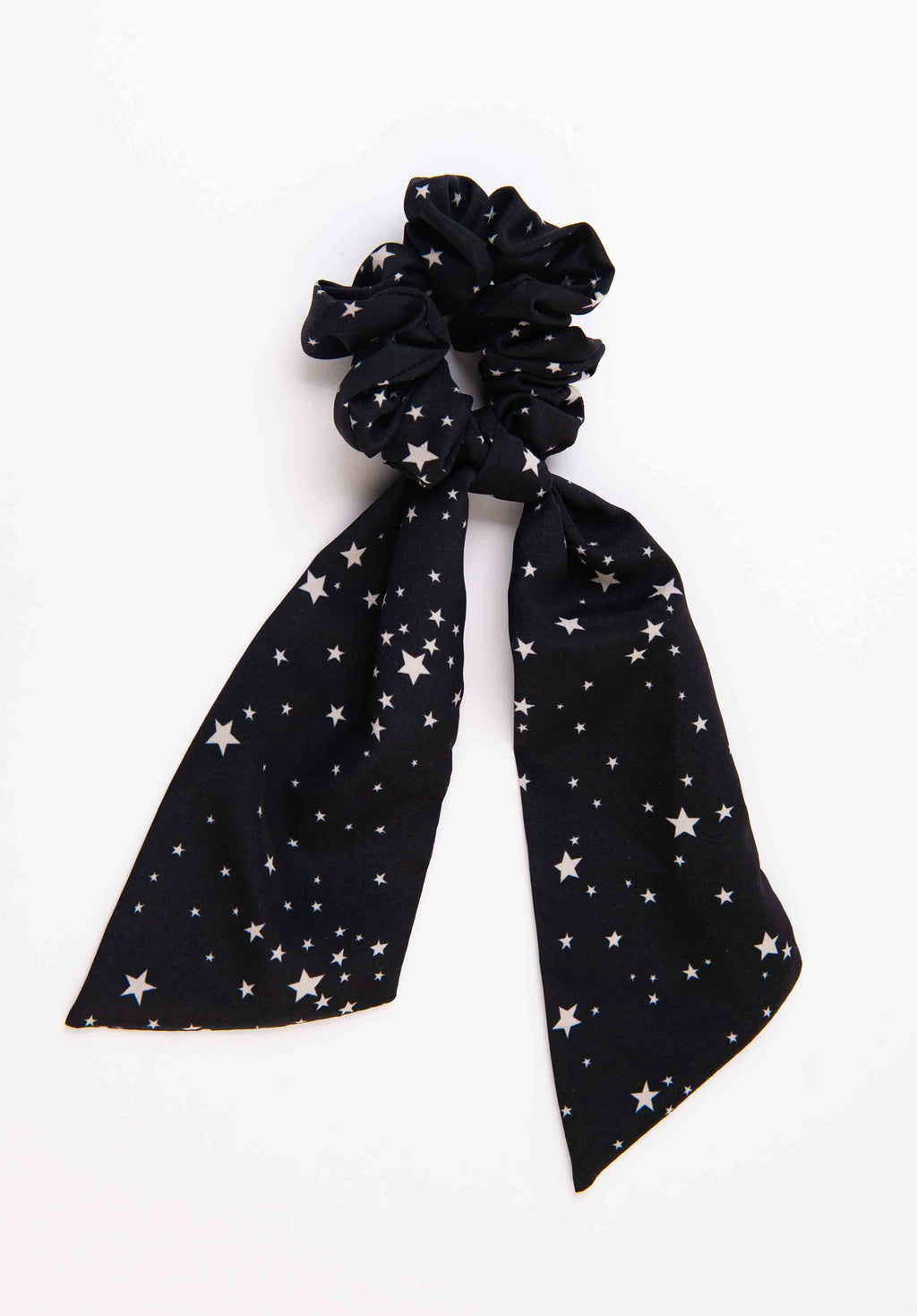 SCARF DETAIL SCRUNCHIE | STARBURST
