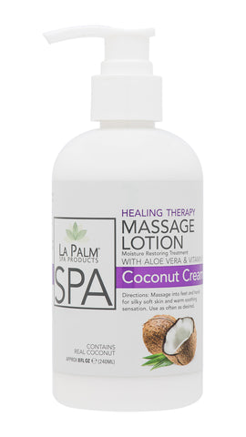 Healing Therapy Massage Lotion Coconut Cream