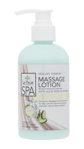 Healing Therapy Massage Lotion Cucumber Cashmere