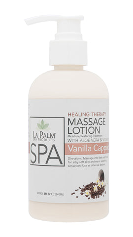 Healing Therapy Massage Lotion Vanilla Cappuccino