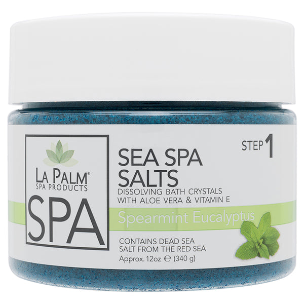 Sea Spa Salts Spearmint Eucalyptus