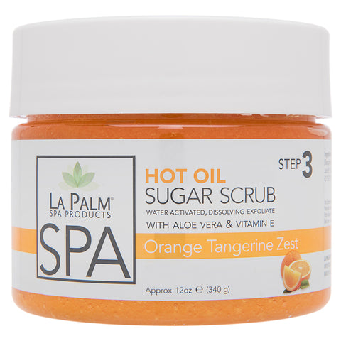 Hot Oil Sugar Scrub Orange Tangerine Zest