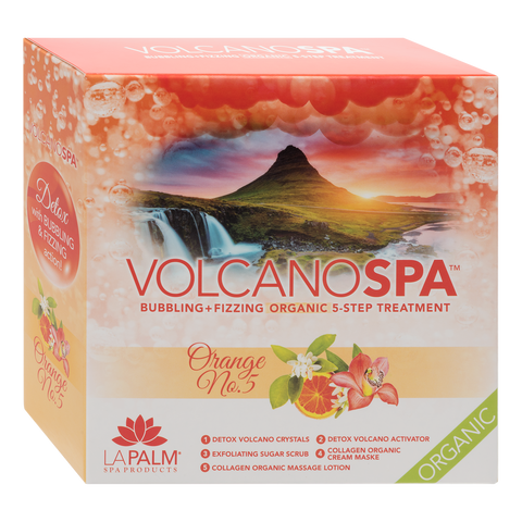 Volcano Spa - Orange No. 5