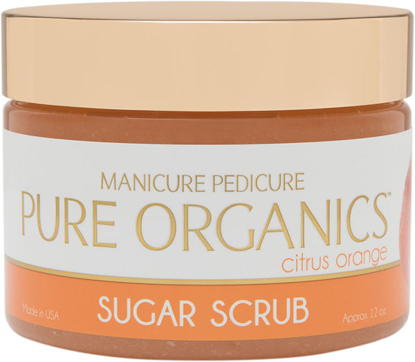 Citrus Orange Sugar Scrub