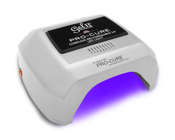 Gel II® Pro-Cure 2.0 Platinum Cordless Rechargeable Lamp