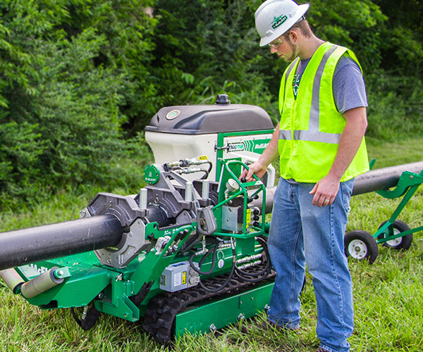McElroy TracStar Fusion Equipment is the option for jobsite terrain.