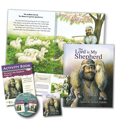 Psalm 23 Lessons, Activities, Picture books, Powerpoint, Curriculum Resources