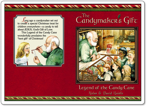 Candymaker's Gift a Legend of the Candy Cane front and back cover