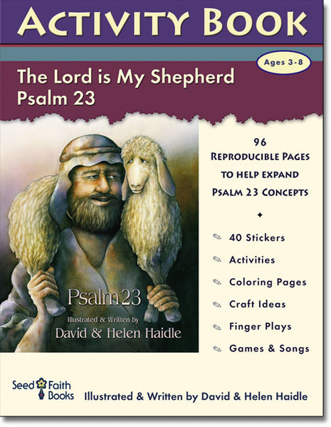 Psalm 23 Activity Book - 96 pages