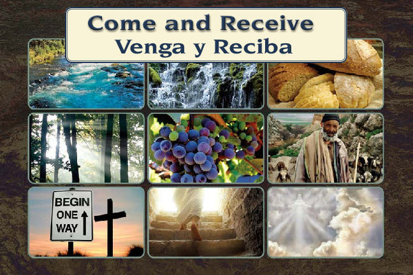 Come and Receive - WHO JESUS IS - English/Spanish Version