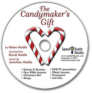 Candy Cane Legend - The Candymaker's Gift - DVD