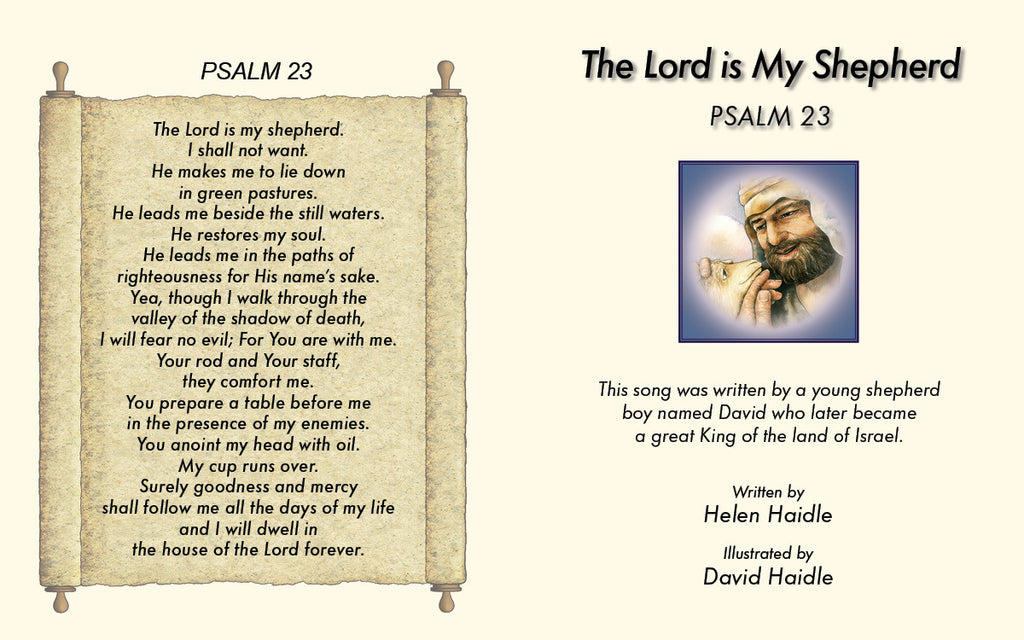 Psalm 23 The Lord Is My Shepherd Pocket Book Pdf Seed Faith Books