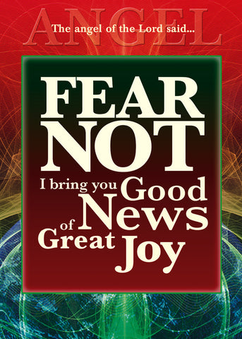 2015 Christmas Card - Fear Not