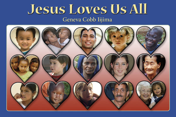 English -  Jesus Loves Us All -PDF download
