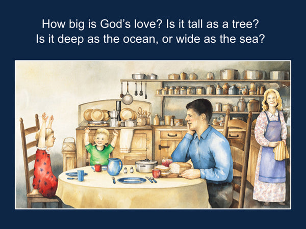 How Big Is God's Love? powerpoint