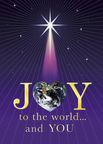 2015 Christmas card - Joy to the World