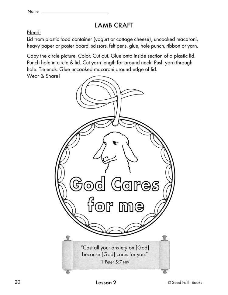 It's just a picture of Psalm 23 Printable within sunday school