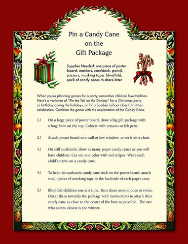 PIN THE CANDY CANE PDF