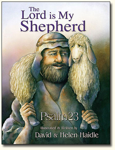 Psalm 23 - The Lord is my Shepherd picture book PDF