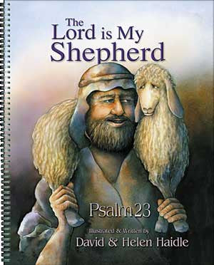 Psalm 23 Big Book - The Lord is My Shepherd