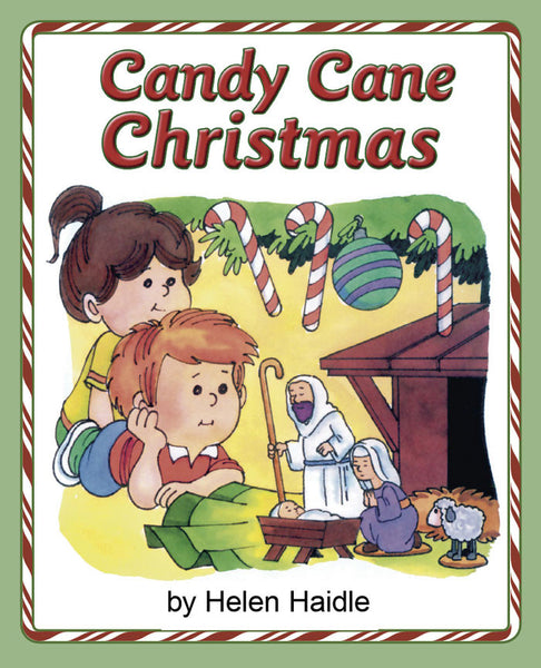 Candy Cane Christmas coloring pdf