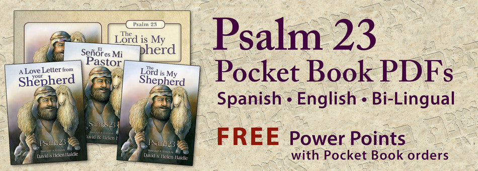 Psalm 23, The Lord is My Shepherd - Pocket Books