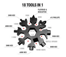 18-in-1 Multifunctionele Tool