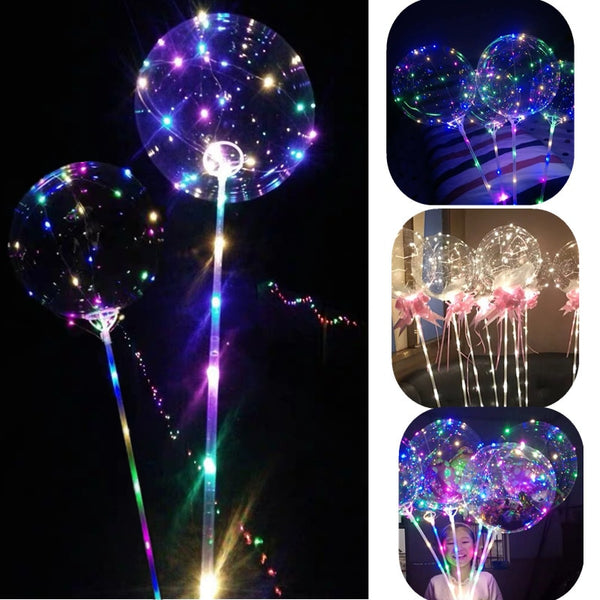 Sprankelende Led-Ballon