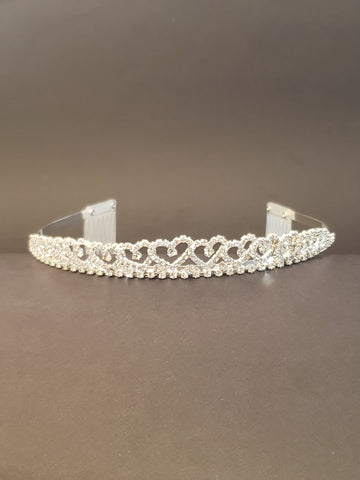 Princess Heart Bridal Tiara (15157)
