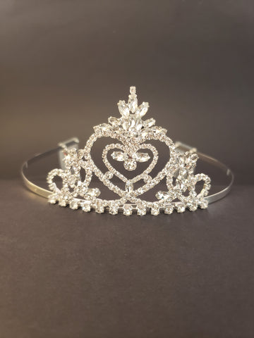 Pageant Praise Tiara with Combs (16491)